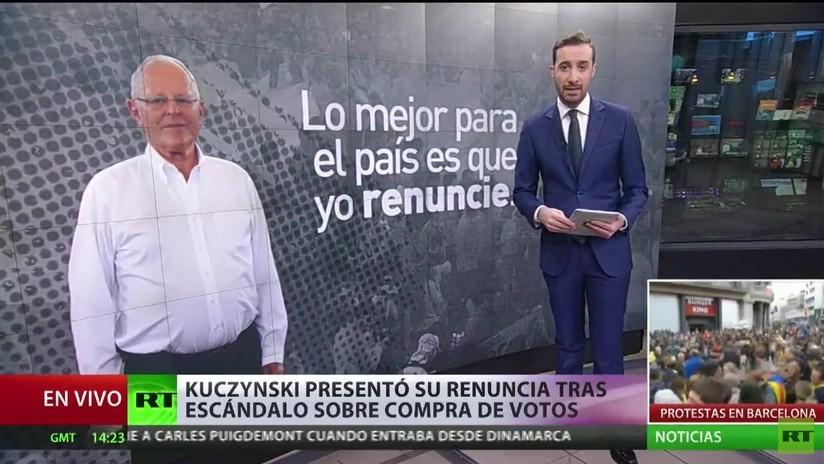 Perú: El escándalo sobre la compra de votos desemboca en la renuncia de Kuczynski