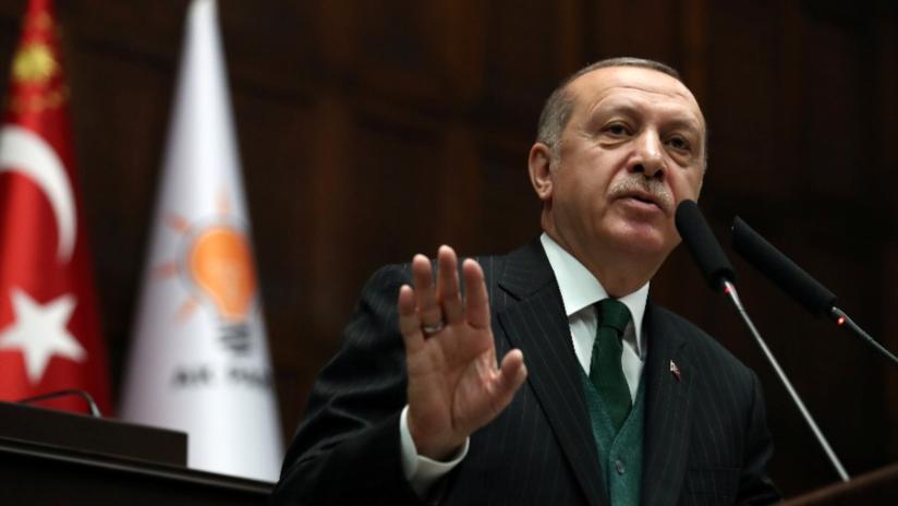 Erdogan anuncia el inicio de una operación militar en la región iraquí de Sinjar