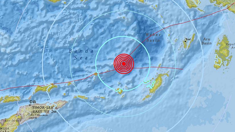 Levantan alerta de tsunami en Indonesia tras un sismo de magnitud 6,4