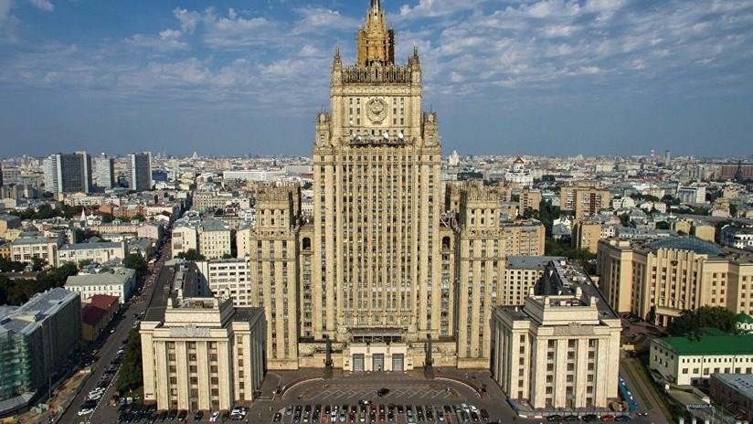 """Moscú: """"La expulsión de diplomáticos persigue la política de agravar la situación"""""""