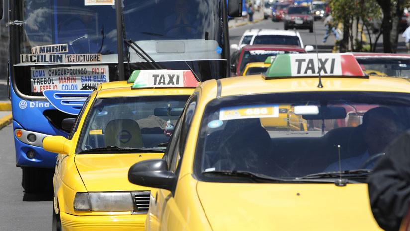 Taxistas de Ecuador marchan contra Uber y Cabify (FOTOS)