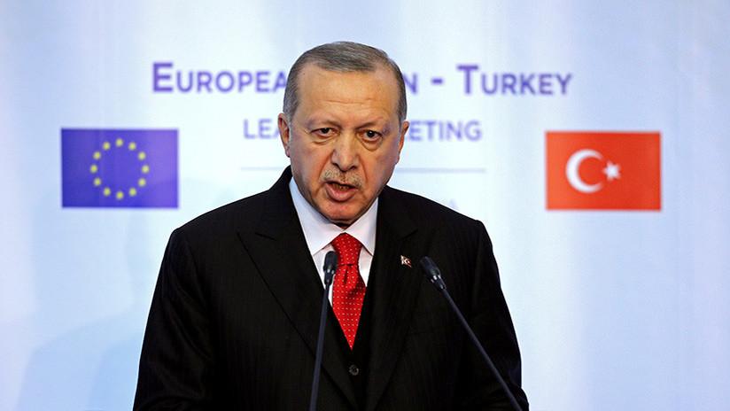"""Erdogan: """"La membresía de Turquía en la UE sigue siendo un objetivo estratégico"""""""