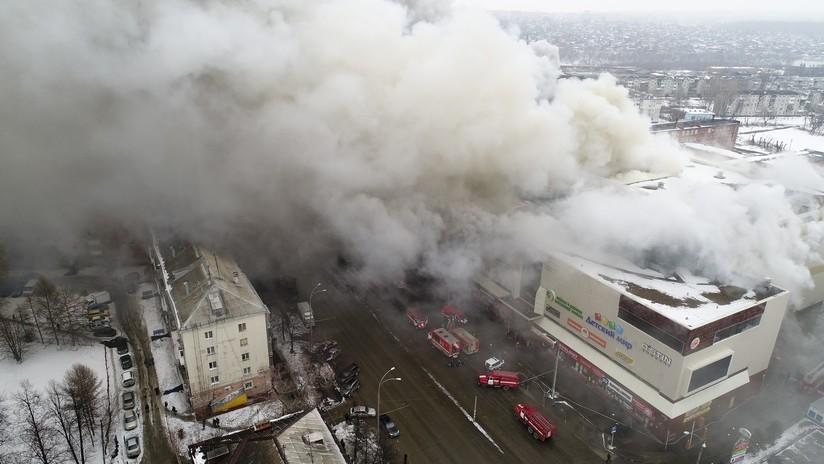 Tragedia en Kémerovo