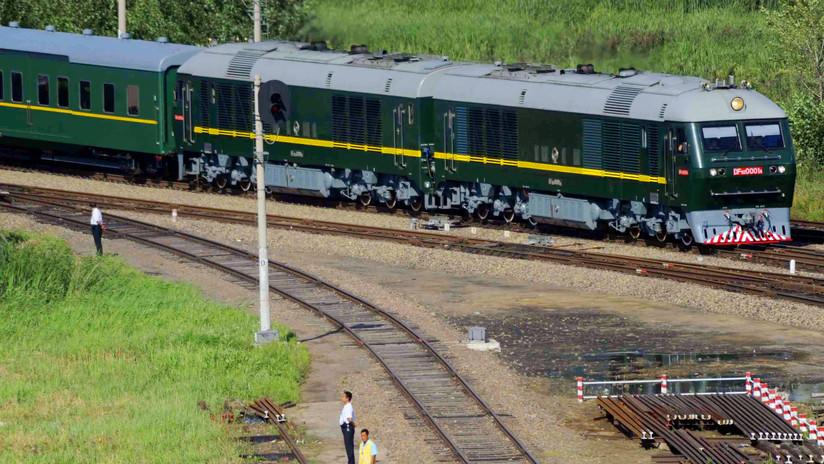 """¿Visitó Kim Jong-un China en un misterioso """"tren verde especial""""?"""