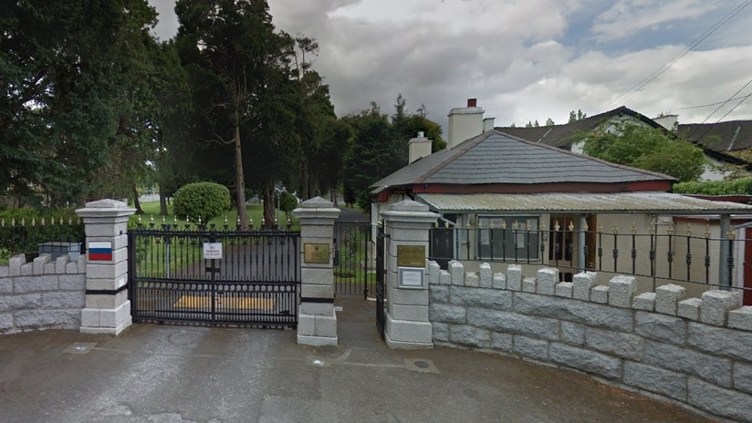 Irlanda expulsa a un diplomático ruso