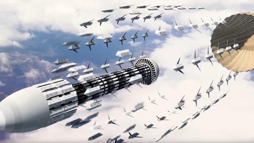 VIDEO: La Fuerza Aérea de EE.UU. muestra cómo será la guerra del futuro