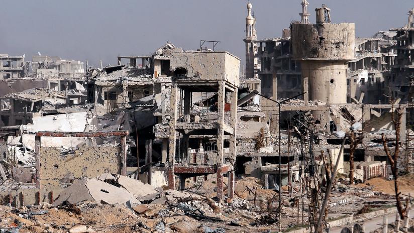 Al menos 27 civiles mueren en bombardeo de grupos armados en Damasco
