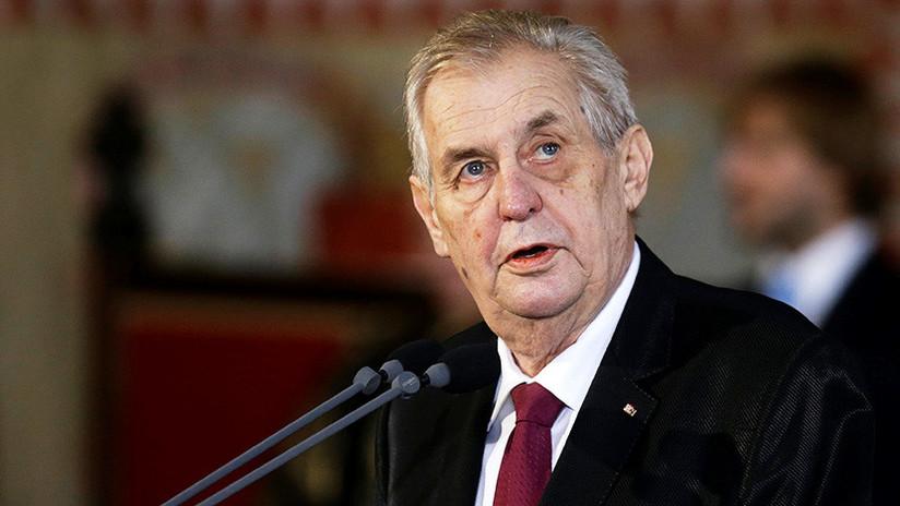 """""""Quiero ver los hechos"""": El presidente checo insta a Londres a mostrar pruebas sobre el caso Skripal"""