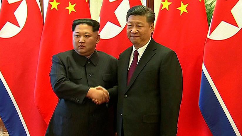 Xi Jinping y Kim Jong-un mantienen un encuentro en Pekín (VIDEO)