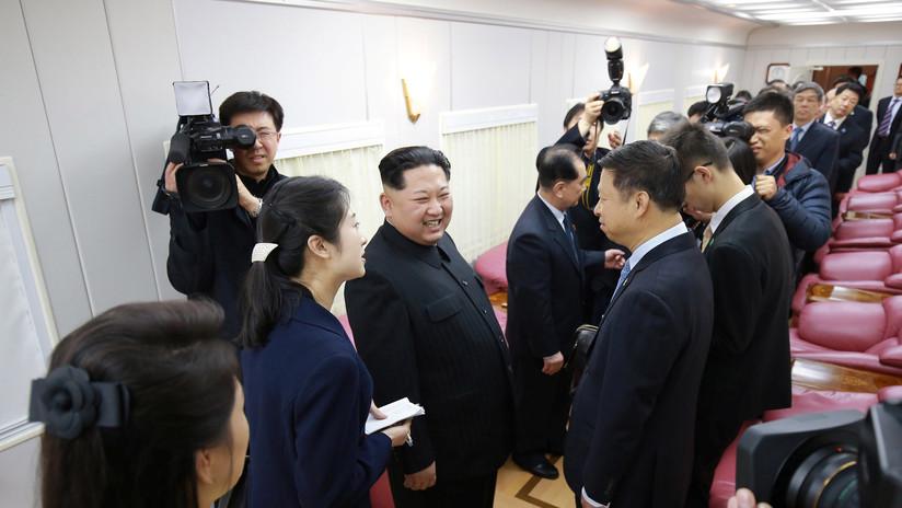 FOTOS: Así fue la visita sorpresa de Kim Jong-un a China