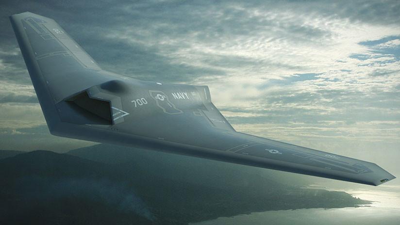 Lockheed Martin desclasifica la imagen de su dron militar MQ-25 Stingray