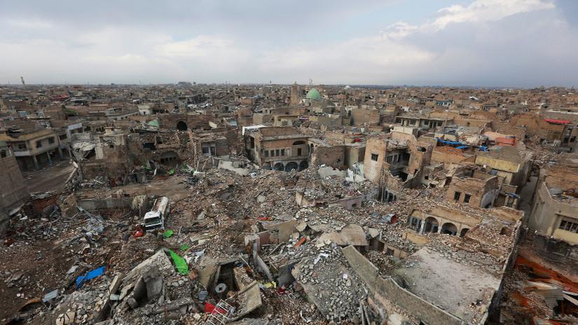 EE.UU. admite que la coalición que lidera ha matado a 855 civiles en su guerra contra el EI
