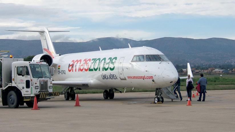 Amaszona confirmó causas de percance con su avión