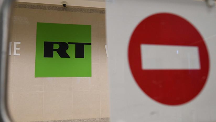 Directora de RT afirma que la emisión de RT en Washington fue cancelada por ser un agente externo