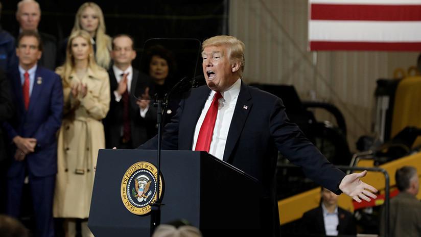 """Trump: """"Hice mucho más de lo que había prometido"""""""
