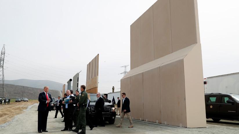 """Trump compara el muro """"de soldados"""" entre las dos Coreas con el de México: """"Ese nadie lo atraviesa"""""""