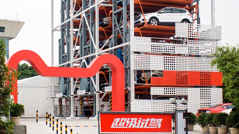 VIDEO: Ford y Alibaba lanzan la primera máquina expendedora de autos en China