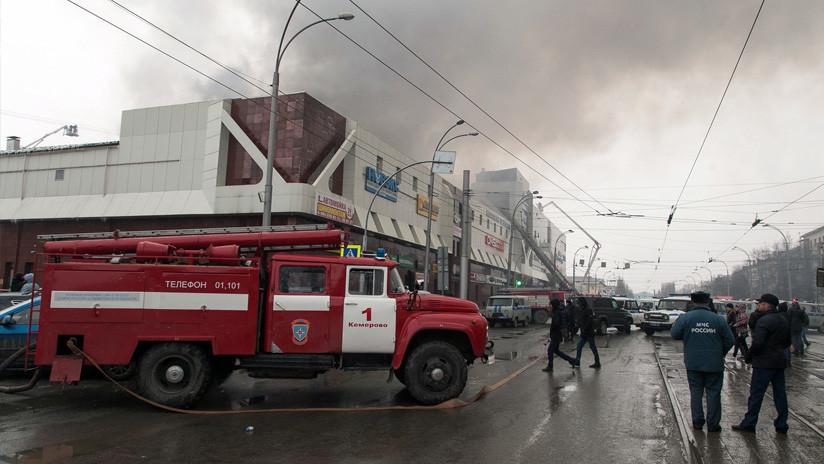 Detienen a la directora general de la compañía propietaria del centro comercial de Kémerovo