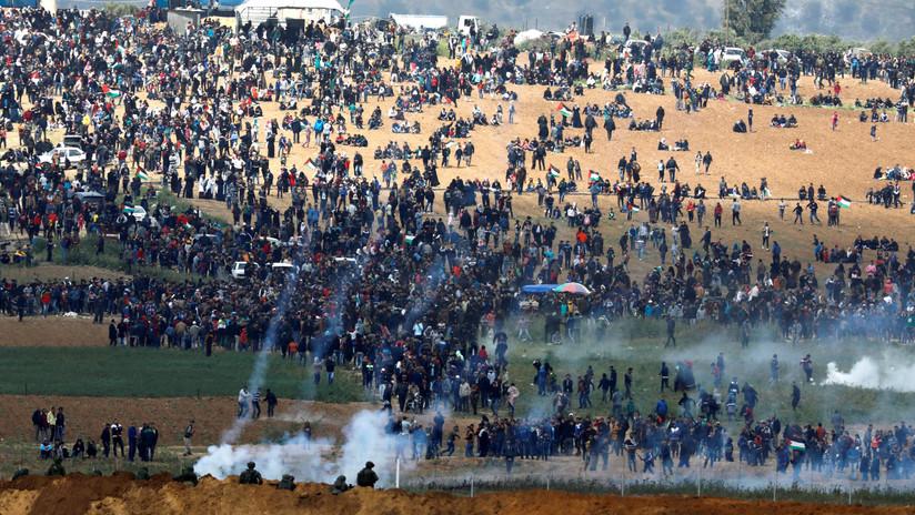 5 palestinos muertos y cientos de heridos por el Ejército israelí la frontera con Gaza