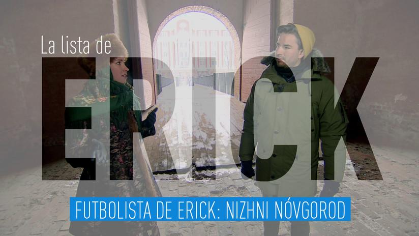 Futbolista de Erick: Nizhni Nóvgorod