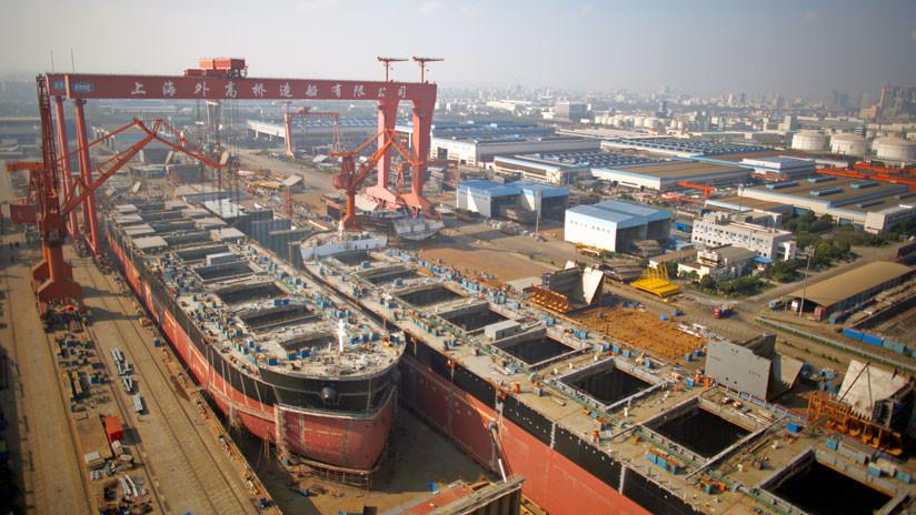 China creará un astillero gigante con la intención de imponerse a sus rivales