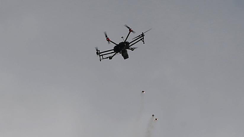 Gas lacrimógeno caído del cielo: Ejército israelí ataca a los palestinos con drones (FOTOS, VIDEO)