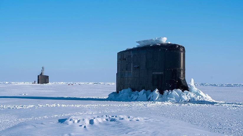 VIDEO: Submarinos de ataque rápido de la Marina de EE.UU. participan en ejercicios en el Ártico