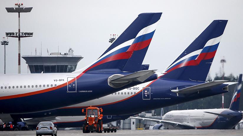 Moscú exige a Londres una explicación oficial tras el registro del avión de Aeroflot