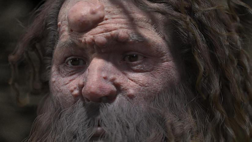 La increíble reconstrucción del rostro de un hombre de Cromañón
