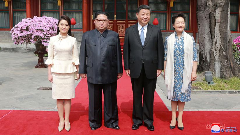 FOTOS: El estilismo de la esposa de Kim Jong-un revoluciona las redes sociales chinas