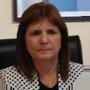 Patricia Bullrich, ministra de Seguridad argentina