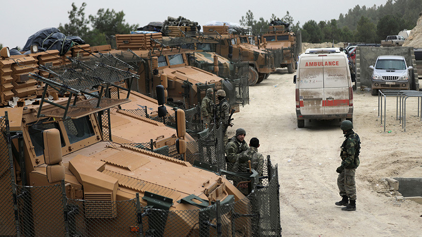El Ejército turco asegura que ha cercado la ciudad siria de Afrín