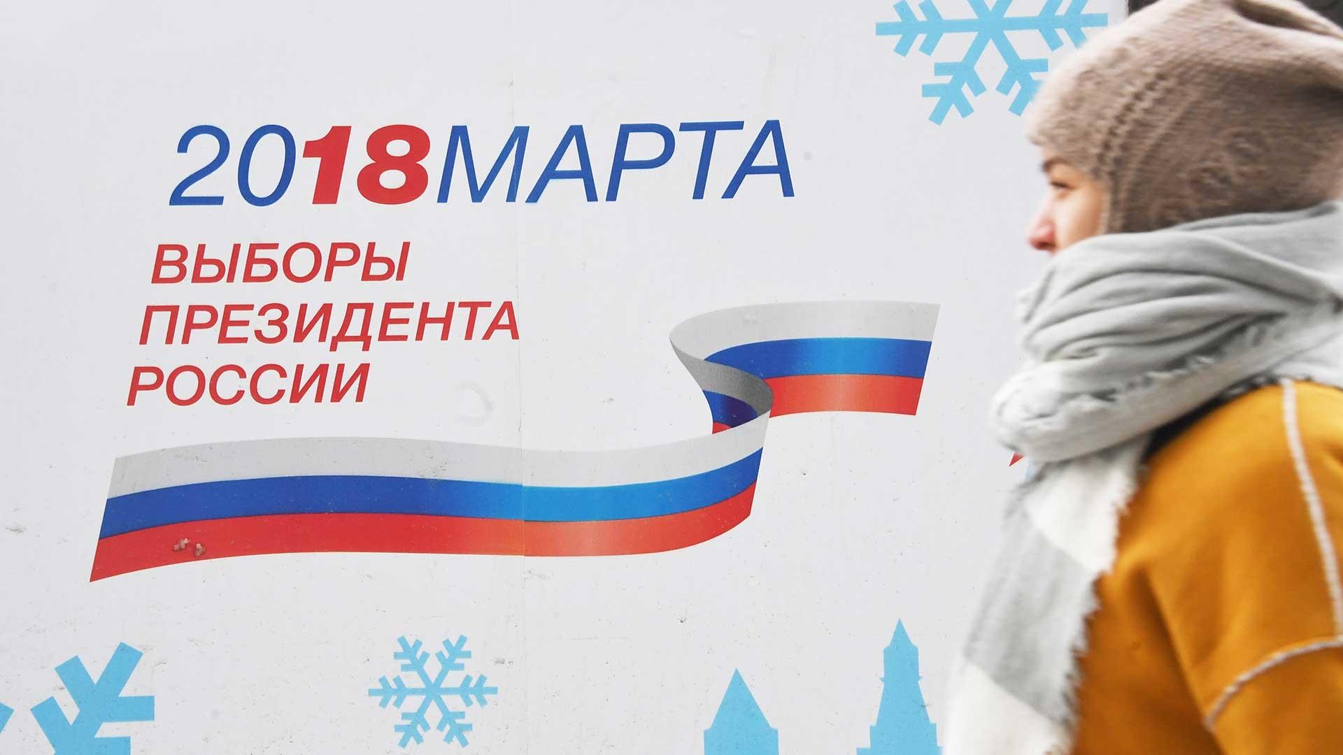 Recta final: Las claves de las elecciones presidenciales en Rusia