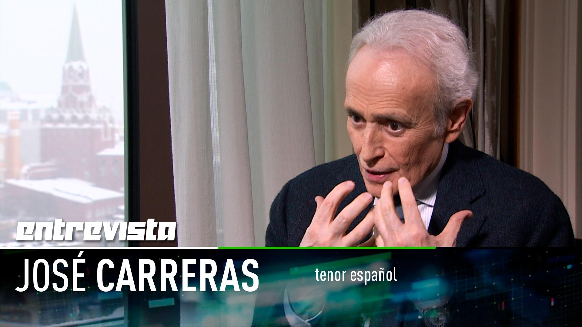 El tenor José Carreras muestra su faceta más personal en una ...