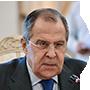 El canciller ruso, Serguéi Lavrov