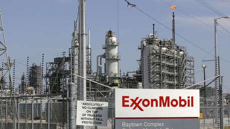 La refinería de Exxon en Baytown, Texas