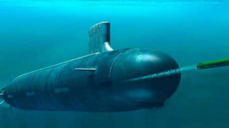 Prototipo del submarino no tripulado Status 6.