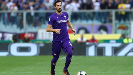 El capitán de la ACF Fiorentina, Davide Astori.