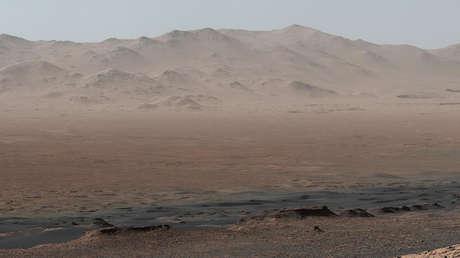 Esta imagen de la NASA obtenida el 2 de febrero de 2018 muestra una vista telegráfica del planeta Marte.