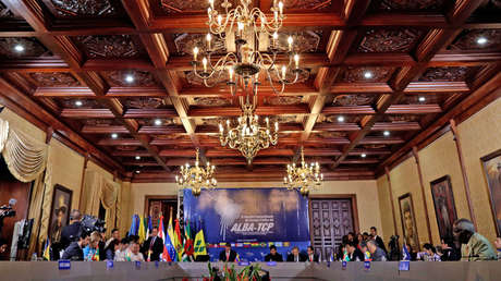 Encuentro de los países del ALBA-TCP en Caracas, Venezuela, el 8 de agosto 2017.