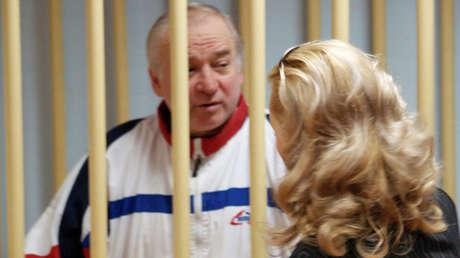 Serguéi Skripal, excoronel del servicio de inteligencia militar GRU, ante el tribunal del distrito militar de Moscú, Rusia, 9 de agosto de 2006