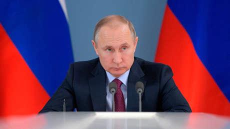 El presidente de Rusia, Vladímir Putin, el 7 de marzo de 2018.