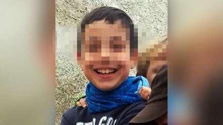 Foto sin fecha del niño español Gabriel Cruz, obtenida de la cuenta de Twitter de la Guardia Civil