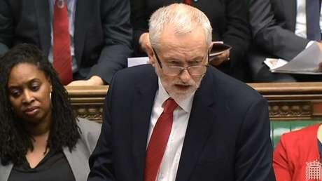 El líder del Partido Laborista de Reino Unido, Jeremy Corbyn.