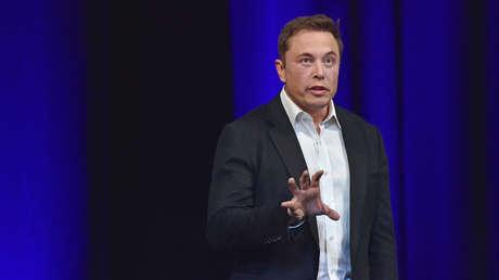 Elon Musk habla en el 68º Congreso Astronáutico Internacional 2017 en Adelaide.