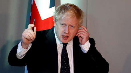 El canciller británico, Boris Johnson.