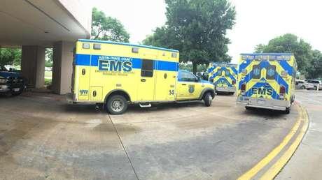 Ambulancias del Servicio Médico de Emergencia de Texas