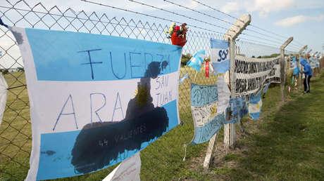 Homenaje a los tripulantes del ARA San Juan en la Base Naval de Mar del Plata, 24 de noviembre de 2017