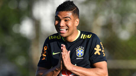 Brazil's player Casemiro