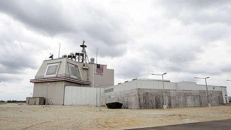 Instalaciones del sistema de defensa antimisiles Aegis Ashore en la base aérea de Deveselu, Rumanía, el 12 de mayo de 2016